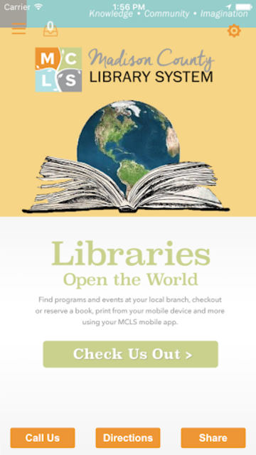 Madison County Library System screenshot 1