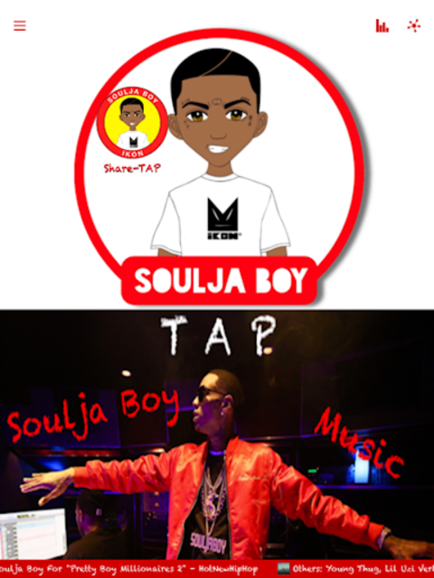 Soulja Boy Official screenshot 1