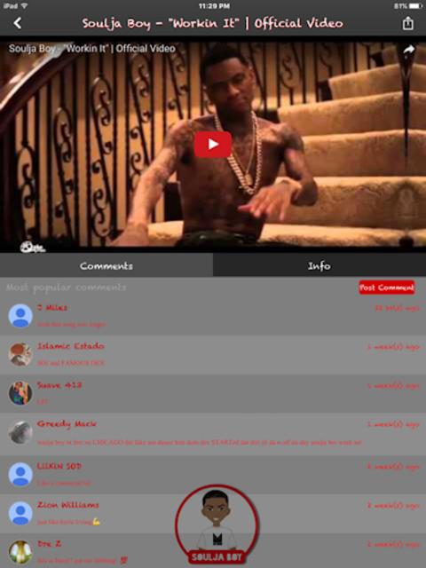 Soulja Boy Official screenshot 11