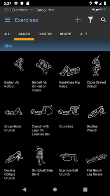 GymACE Pro: Workout Tracker & Body Log screenshot 2