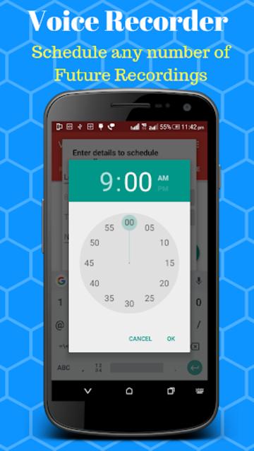 Voice Recorder - Scheduled Timer Audio Recorder screenshot 6