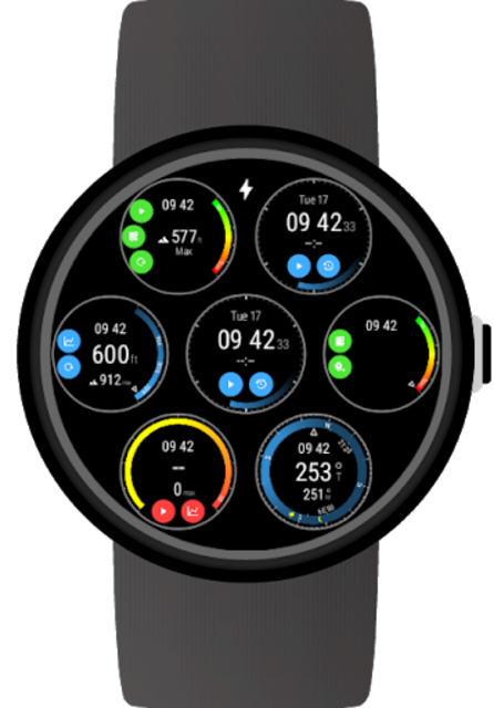 Instruments for Wear OS (Android Wear) screenshot 1