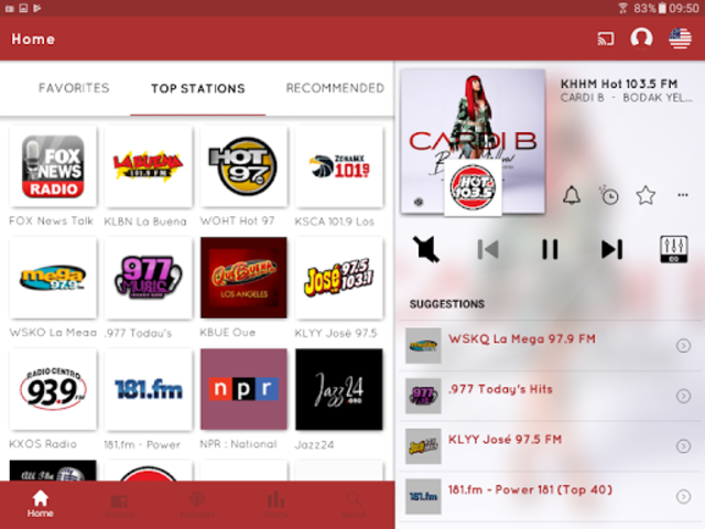 myTuner Radio App: FM Radio + Internet Radio Tuner screenshot 14