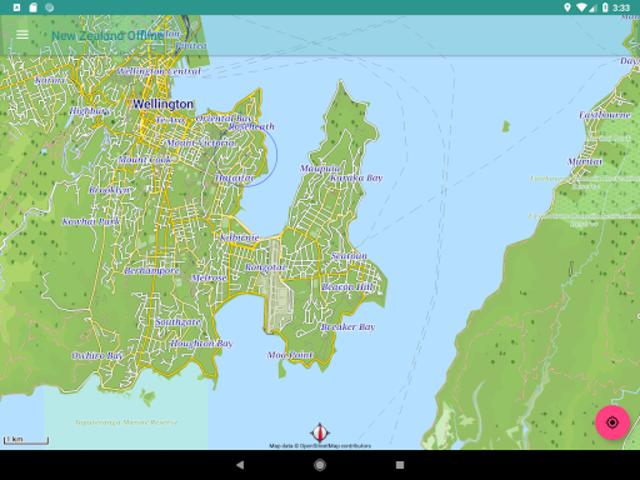 New Zealand Offline Map screenshot 9