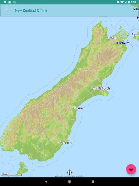 New Zealand Offline Map screenshot 11