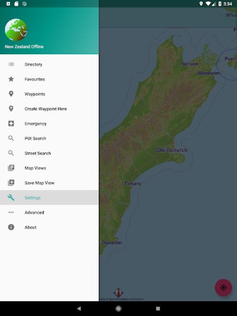 New Zealand Offline Map screenshot 12