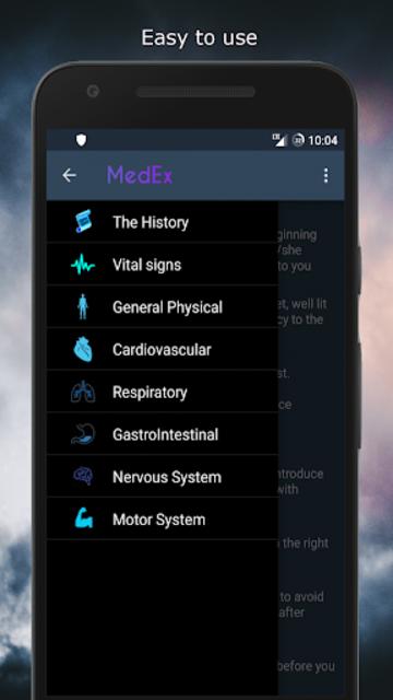 MedEx - Clinical Examination screenshot 1