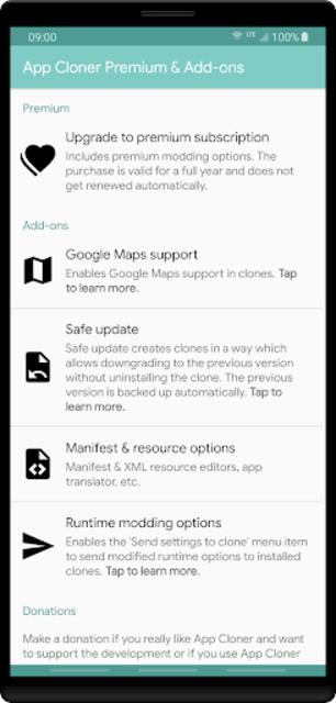 App Cloner Premium & Add-ons screenshot 1