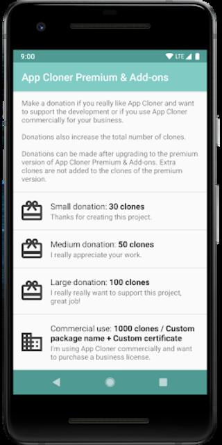 App Cloner Premium & Add-ons screenshot 2