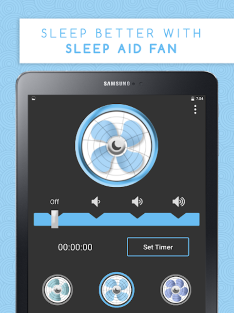 Sleep Aid Fan - White Noise Fan Background Sounds screenshot 7