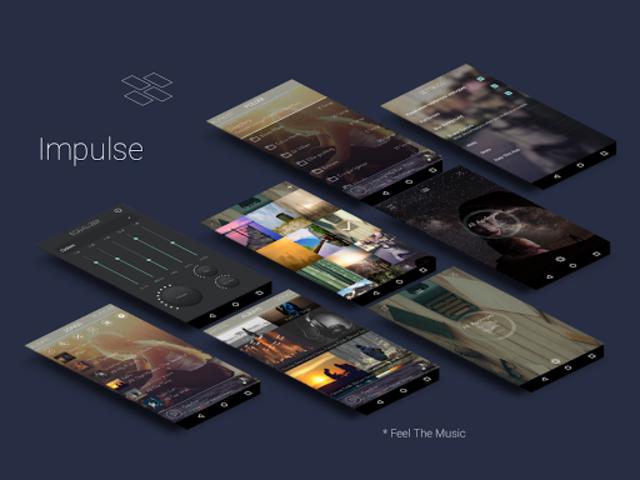 Impulse Music Player Pro screenshot 1