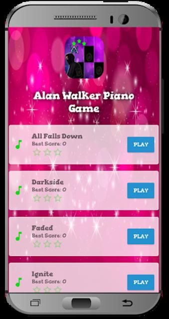 Alan Walker Piano Game screenshot 1