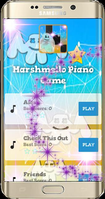 Marsmellow Piano Game screenshot 1