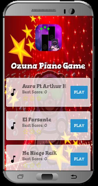 Ozuna Piano Game screenshot 1