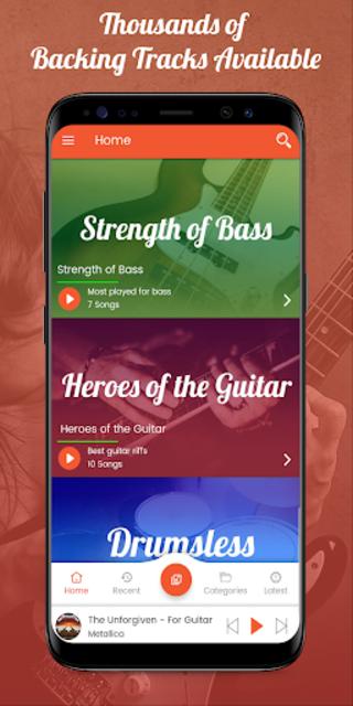 Backing Track Play Music Pro screenshot 1