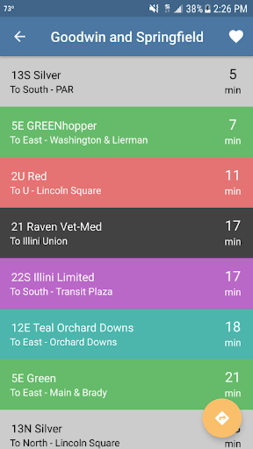 CU Transit: Bus and Navigation screenshot 2