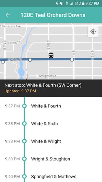 CU Transit: Bus and Navigation screenshot 4
