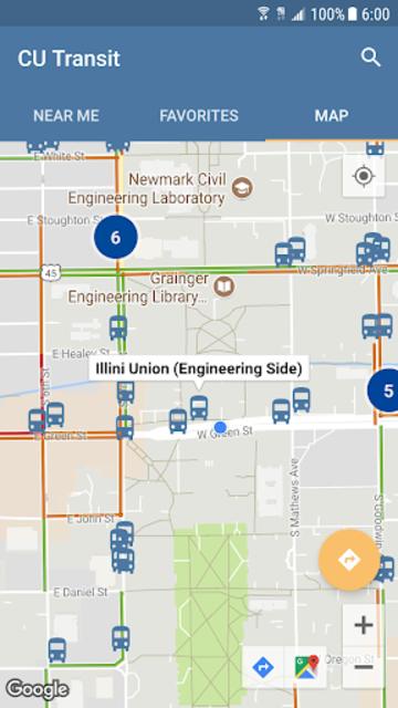 CU Transit: Bus and Navigation screenshot 7