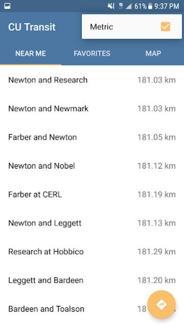CU Transit: Bus and Navigation screenshot 8