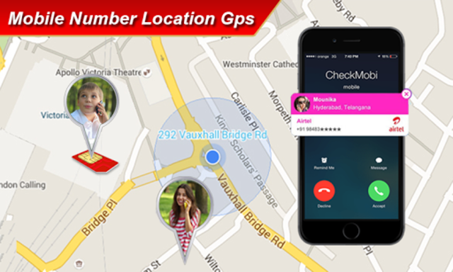 Mobile Number Location Finder GPS screenshot 1