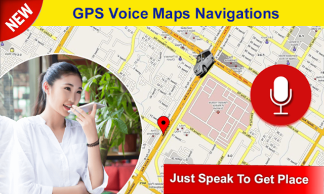 GPS Voice Navigation Maps & Drive Route Direction screenshot 1