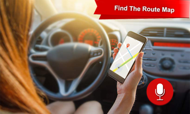 GPS Voice Navigation Maps & Drive Route Direction screenshot 7