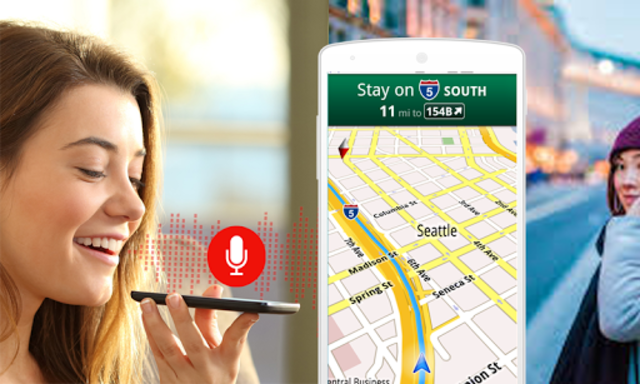 GPS Voice Navigation Maps & Drive Route Direction screenshot 8