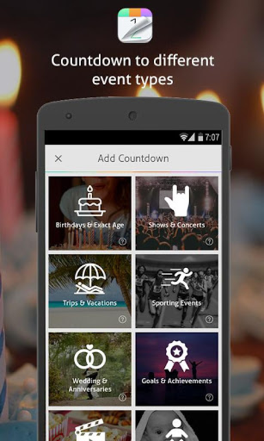 Countdown+ Widgets Calendar Lite screenshot 2