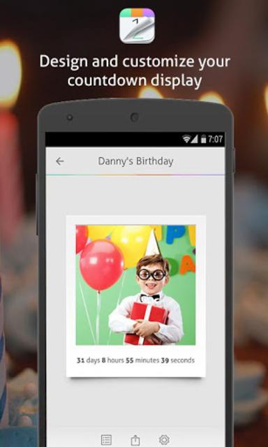 Countdown+ Widgets Calendar Lite screenshot 4