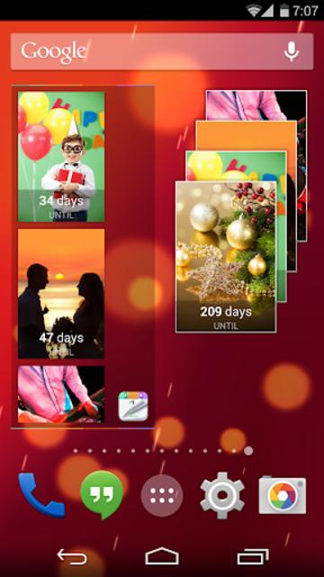Countdown+ Widgets Calendar Lite screenshot 7