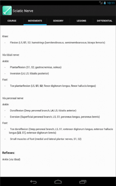 Peripheral Nerve Expert screenshot 13