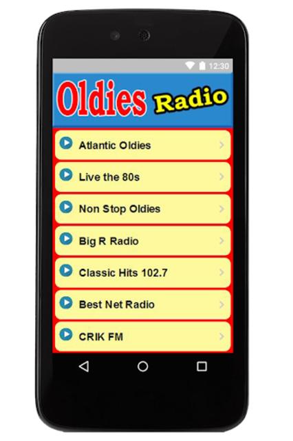 Oldies Radio Station For Free screenshot 1