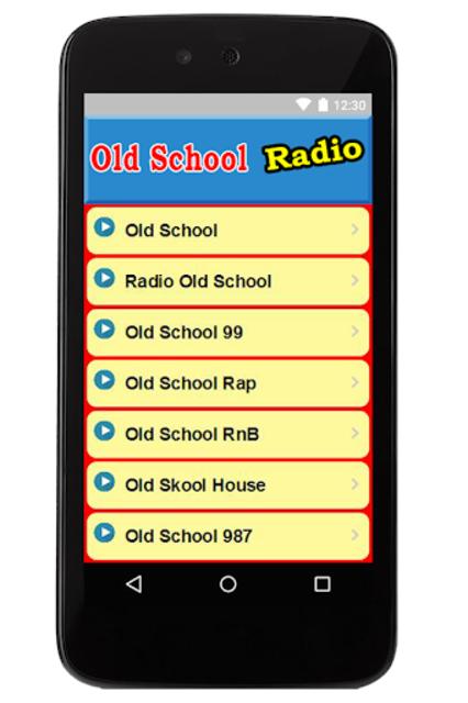 Old School Music Radio Stations screenshot 1