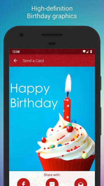 Free Birthday Cards screenshot 2