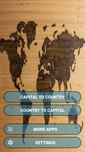 Capital Cities Quiz Game screenshot 2