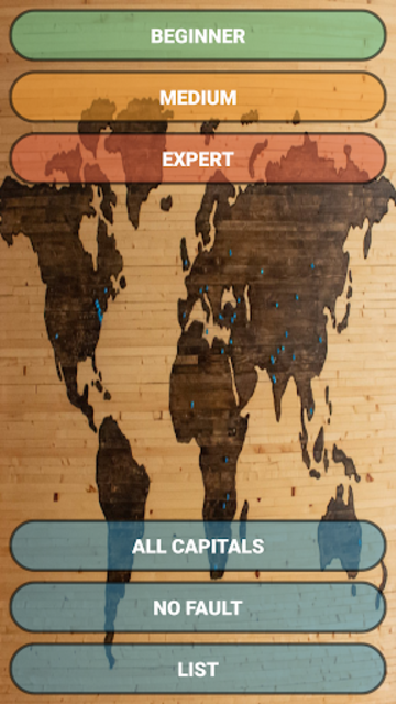 Capital Cities Quiz Game screenshot 3