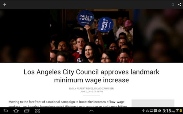 LA Times: Your California News screenshot 9