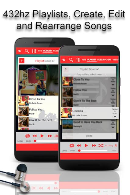 432 Player - Listen to Pure Music screenshot 5