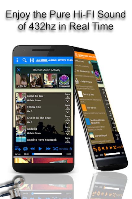 432 Player - Listen to Pure Music screenshot 7