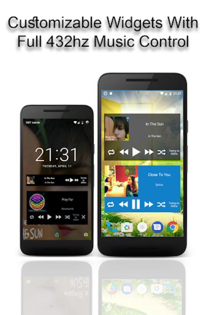 432 Player - Tune Your Music and Radio into 432hz screenshot 3