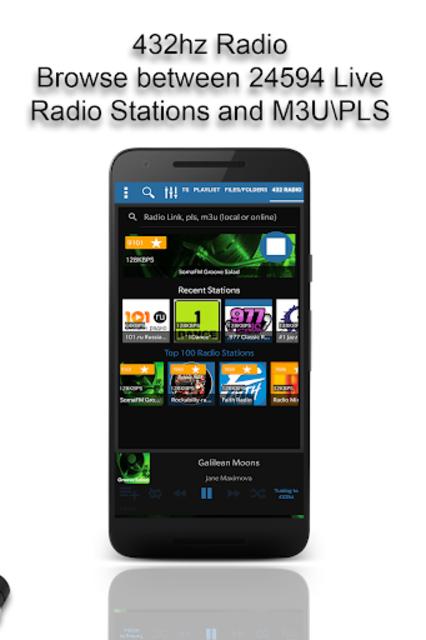 432 Player - Tune Your Music and Radio into 432hz screenshot 5