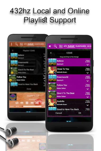 432 Player - Tune Your Music and Radio into 432hz screenshot 6