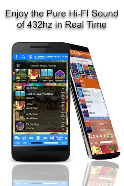 432 Player - Tune Your Music and Radio into 432hz screenshot 7