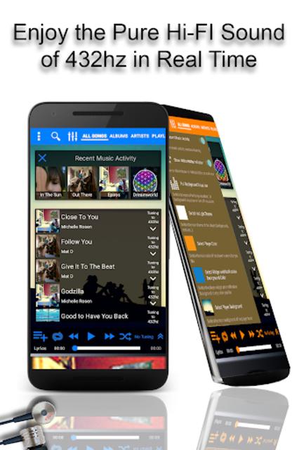 432 Player - Listen to Pure Music screenshot 1
