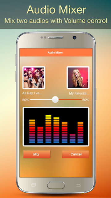 Audio MP3 Cutter Mix Converter and Ringtone Maker screenshot 5