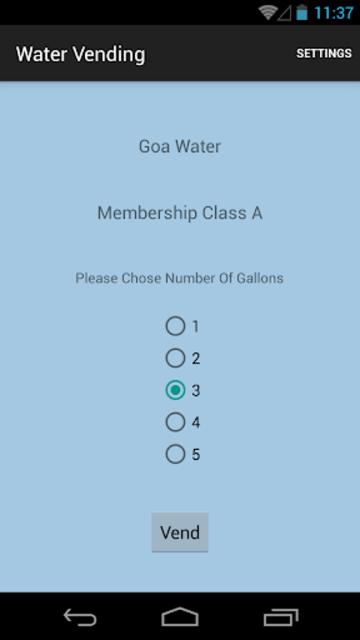 WaterVending screenshot 1