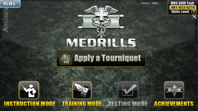 Medrills: Army Tourniquet screenshot 1