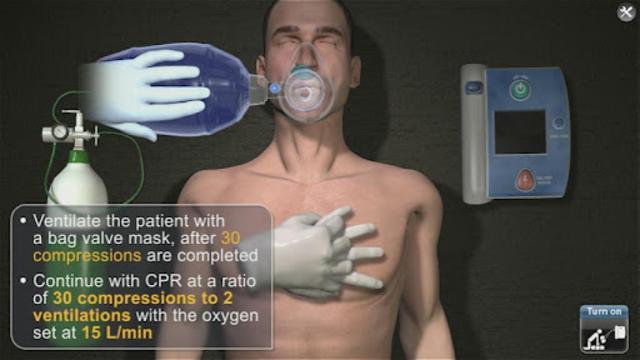 Medrills: AED screenshot 2