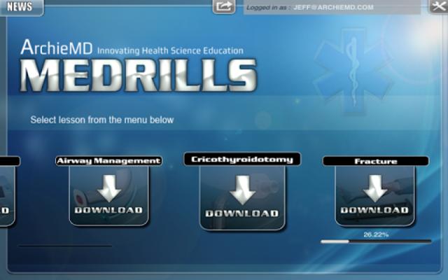 Medrills: Group or Single User screenshot 1