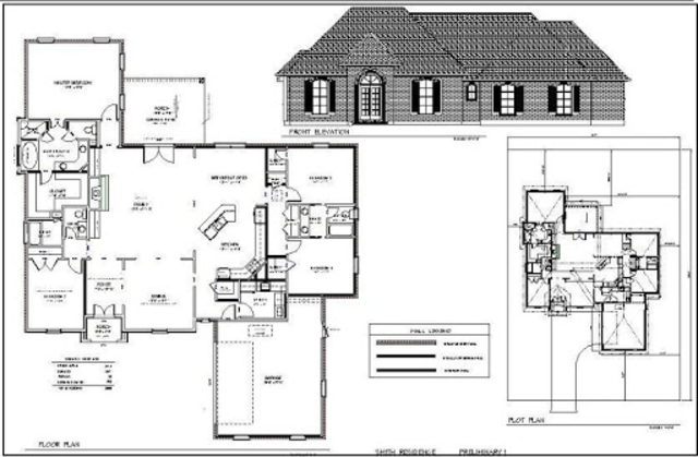 Architecture House Drawing screenshot 2